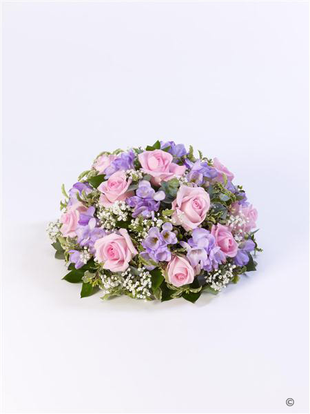 Rose and Freesia Posy - Pink and Lilac